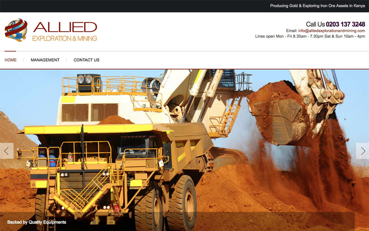 Allied Exploration and Mining Ltd